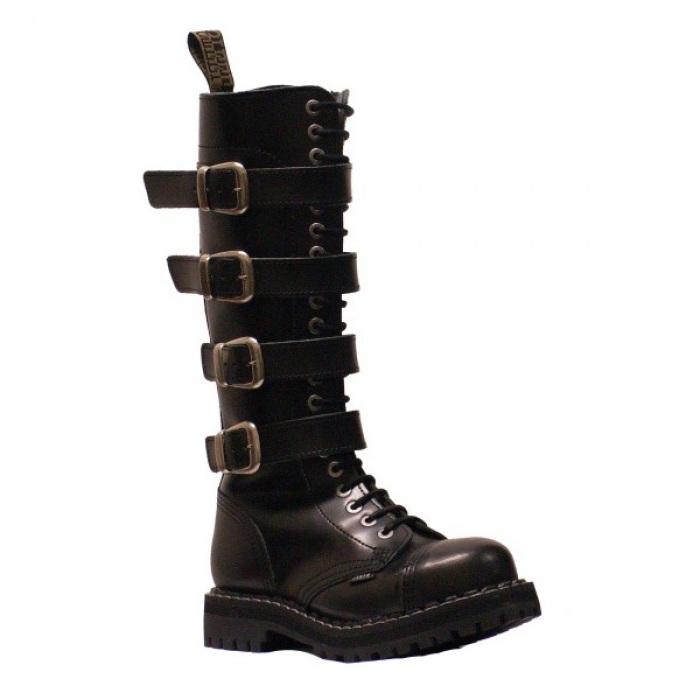 STEEL BOOTS 20 dírkové Steel Boots ROCK 5P Černá   STEEL ROCK   Eshop  Kozenyobchod.cz 34cab159dd